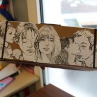 """Bookbox """"Gainsbourg"""" - Collège Charles Mozin"""