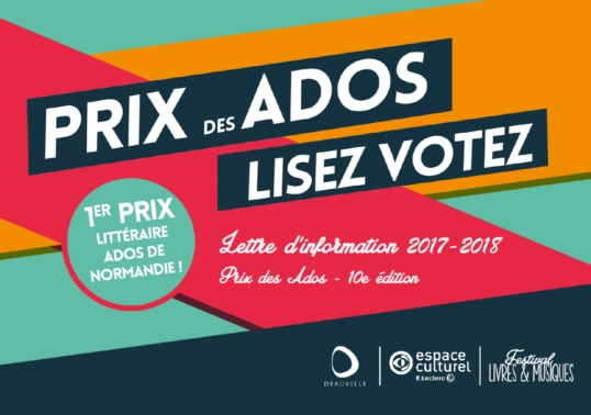 Prix des Ados - lettre d'information