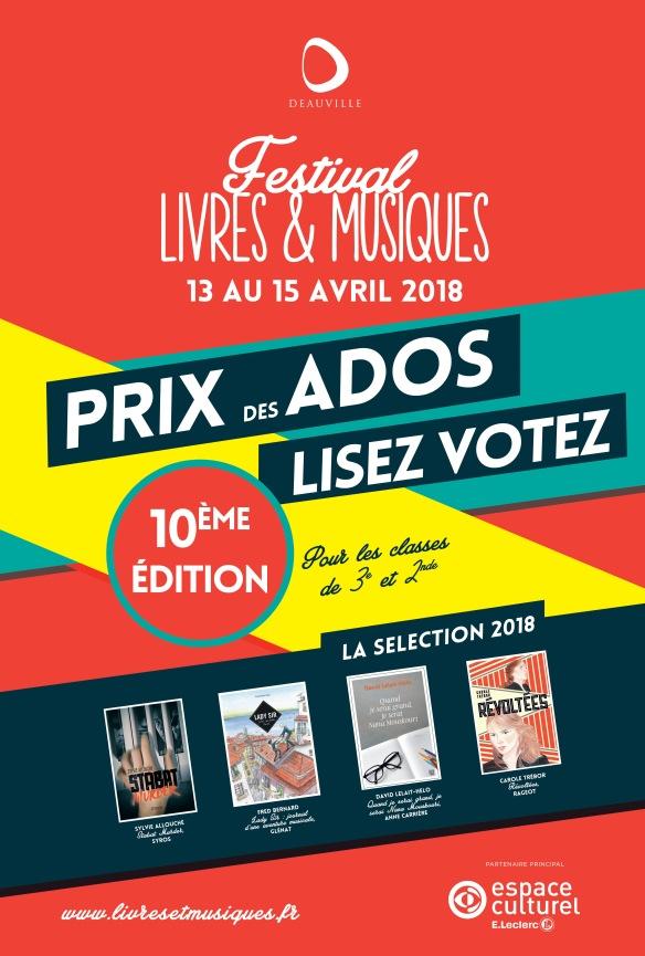 Affiche Prix des Ados 2018